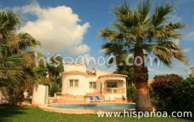 Villa avec piscine à Javea pour 4 personn