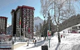 Studio pour l'été et l'hiver dans la station familiale du Corbier, Savoie.