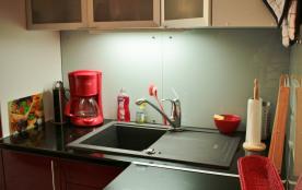 détail de la cuisine