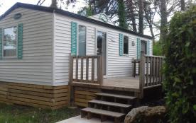 Loue Mobil home 6/8 personnes dans petit camping familiale 3***