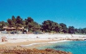 Appartement 2 pièces, face à la plage, vue mer, exposition sud-ouest, rez-de-jardin 40m².