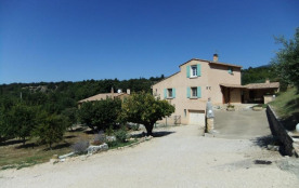 Gîte bien aménagé et équipé, situé à 300 m du cœur du village, avec la maison des propriétaires s...