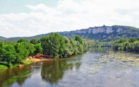 Camping la Plage *** en Vallée de la Dordogne entre Rocamadour/Gouffre de Padirac Location Lodge/bungalow et emplacement