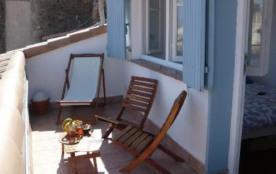 Terrasse dernier étage avec vue