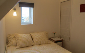 chambre étage lit double 160x200cm