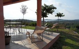 Villa Vue mer Climatisée à Pinarello, 3 ch, 2 sdb