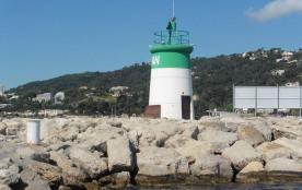 Le phare de Golfe Juan