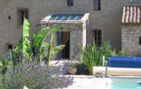 Gîte de charme les Basses Granges à la campagne avec piscine - Portes-en-Valdaine