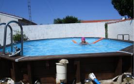 la piscine :