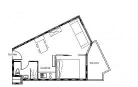 Appartement 2 pièces 4 personnes (521)