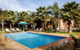 squarebreak, Berber riad in a luxuriant garden