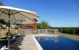 piscine chauffée privative au séchoir