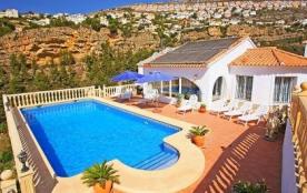 Villa 709BLAN-274 - Villa située à Moraira accueillant 10 personnes avec piscine privée.