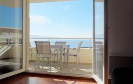 Superbe T2 dans résidence de standing très calme à Ajaccio. Mer en bas de la résidence. Vue magnifique sur tout le golfe