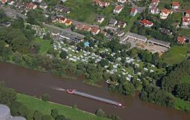 KNAUS Campingpark Frickenhausen, 270 emplacements, 3 locatifs