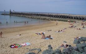 La plage centrale