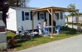 Location de MH 6 pers. 3 chambres dans petit camping dans le morbihan Sud pres de Carnac et Quiberon