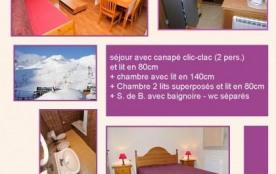 5 A Résidence MAIA 8 pers Cat 6 : Appartement au 5er étage avec vue pistes