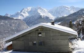 """Chalet individuel 10/12 personnes- 900m du départ domaine skiable """"Evasion Mont-Blanc"""": St.Gervais-Megève-C..."""