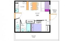 Appartement 2 pièces 4 personnes (24)