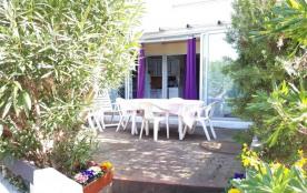 FR-1-112-36 - Saint Louis studio 6 personnes rez de jardin