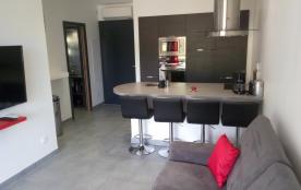 Près de St Florent, très bel appartement avec piscine