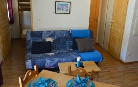 Studio cabine de 26 m² au premier étage de la résidence.