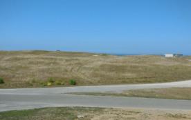 Vue sur la dune d'un vélux de l'étage