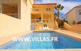 Villa moderne et climatisée pour 9 personnes avec piscine privée.