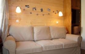 Studio 20 m², 4 personnes au premier étage de la résidence, les Hauts Val d Arly Batiment B, expo...