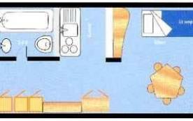 Appartement duplex 4 pièces 9 personnes (1117)