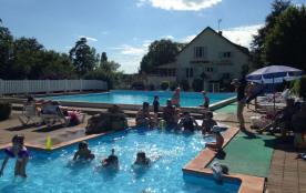 Camping Les Bains, 130 emplacements, 27 locatifs