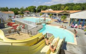 Camping Club Le Loyada 5* - Mobil home Premium Clim - 2 chambres - 4/6 personnes