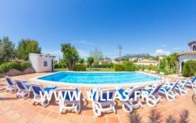 Villa AB Or - Belle villa bien située, à la fois près de la plage de Levante (à environ 700 mètre...