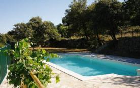 Gard, Soudorgues, beau mas provençal 6 personnes, piscine privée, situé entre St Hippolyte du For...