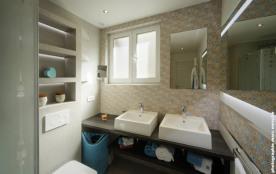 Salle d'eau 1 - Douche Italienne & wc