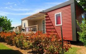"""Mobil-home Premium """"Alizé"""" / 4 - 6 personnes - climatisé - Pour profiter des joies du camping en bénéficiant d'un con..."""