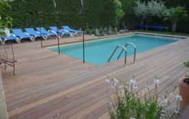 meublé de tourisme avec piscine privée chauffée (solaire) - L'Isle sur la Sorgue