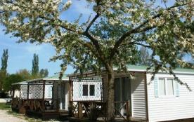 Camping du Pasquier, 120 emplacements, 10 locatifs