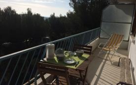 Grand T3 standing hauteurs de Toulon au calme vue mer