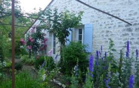 façade vue sur le jardin