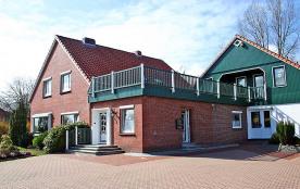 Appartement pour 2 personnes à Esens