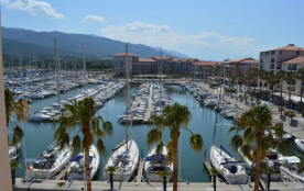 Argeles sur Mer (66) - Port Argeles - Résidence La Réale. Appartement 2 pièces avec chambre cabin...