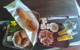 petit-déjeuner dans les logements