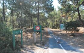 piste cyclable à 200 m