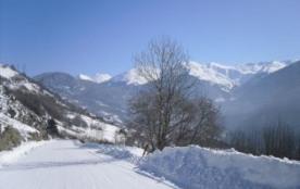 Paysage d 'hiver aux abords de la maison