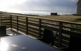 Appartement T4 6 personnes vue océan - au centre de la station - 40600 Biscarrosse plage