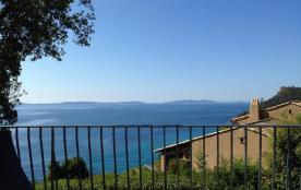 Gîtes de France Villa « Fracap » avec vue mer.