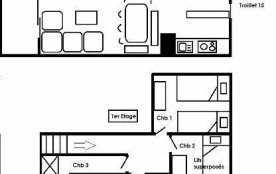 Appartement duplex 4 pièces 6 personnes (15)