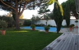 FR-1-258-31 - LE BOIS PLAGE 6 personnes grand jardin avec piscine privative.